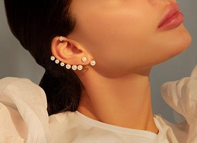 Boucles d'oreilles ear cuffs