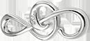 Petite clef de sol argent 925 (2,6 cm)