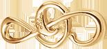 Grande clef de sol plaqué-or (3,1 cm)
