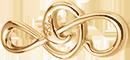 Petite clef de sol plaqué-or (2,6 cm)