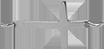 croix 1,5 cm argent