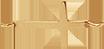 croix 1,5 cm plaqué or