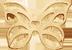 Papillon ajouré mini plaqué or