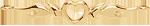 mini coeur avec des flammes 3 cm plaqué or