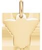 Ange fille 1,5 cm plaqué-or