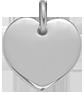Coeur argent 1,5 cm