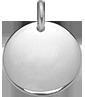 Médaillon 1,5 cm argent 925