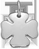 Trèfle 1,5 cm argent 925