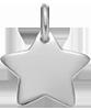 étoile 1,5 cm argent 925
