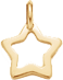 une étoile de 1cm en or585