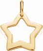 une étoile de 1,5cm en or585