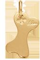 os 1,8 cm plaqué or