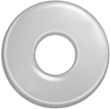 Cible 2 cm argent 925