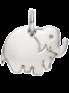 Eléphant en Argent 1 cm