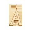 Pendentif suspendu Meaning, 1 cm, A, or jaune