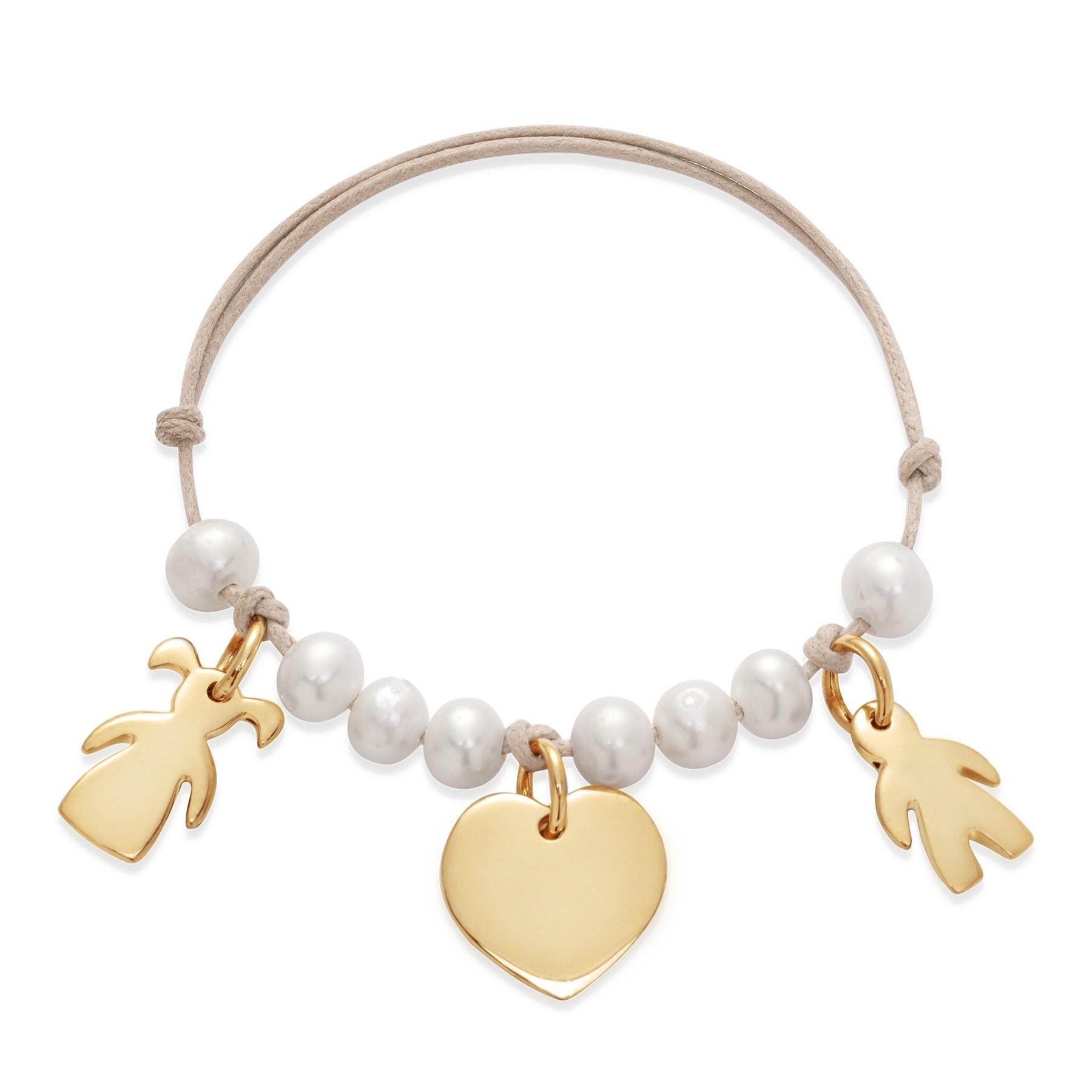 Bracelet Louise plaqué or