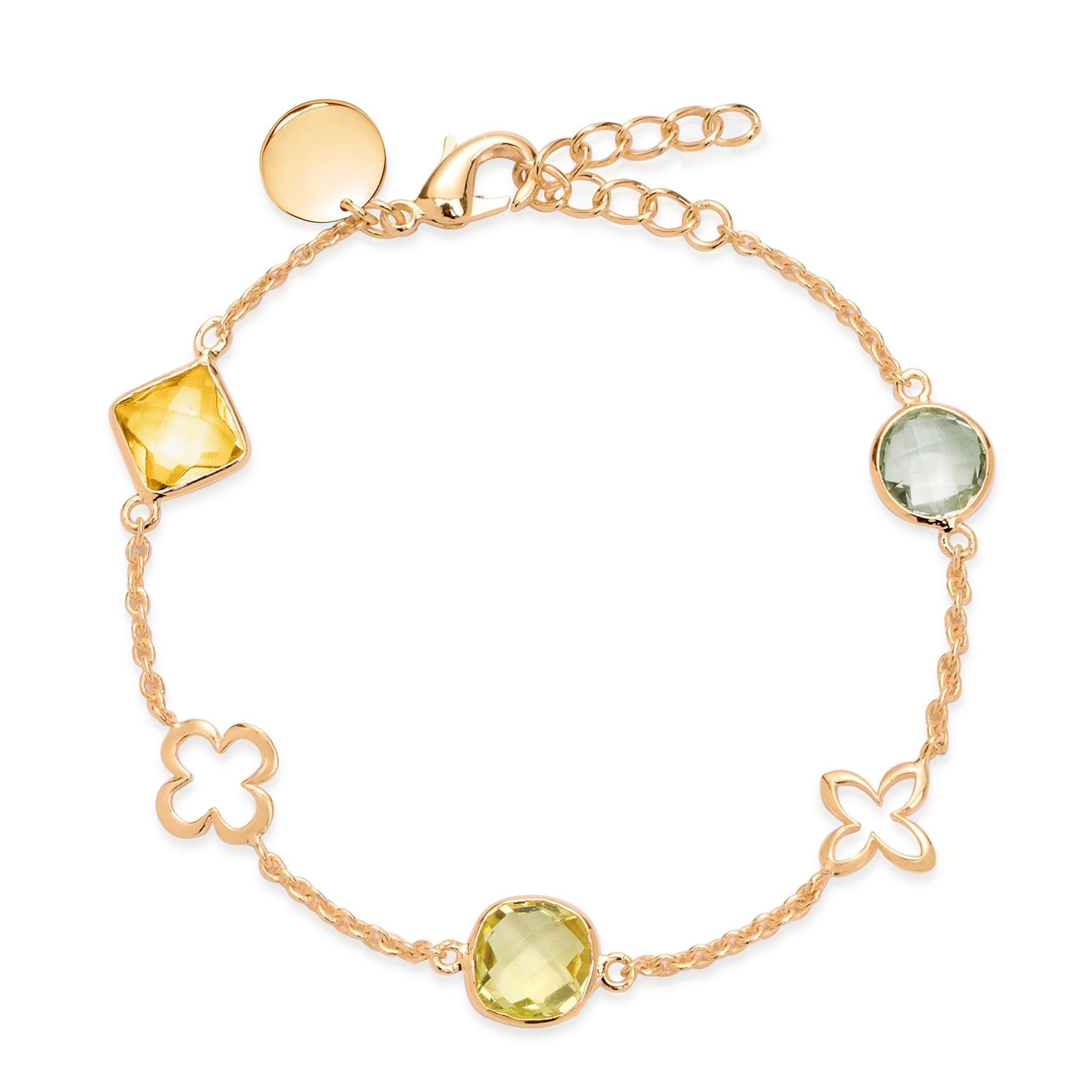 Bracelet Biarritz plaqué or