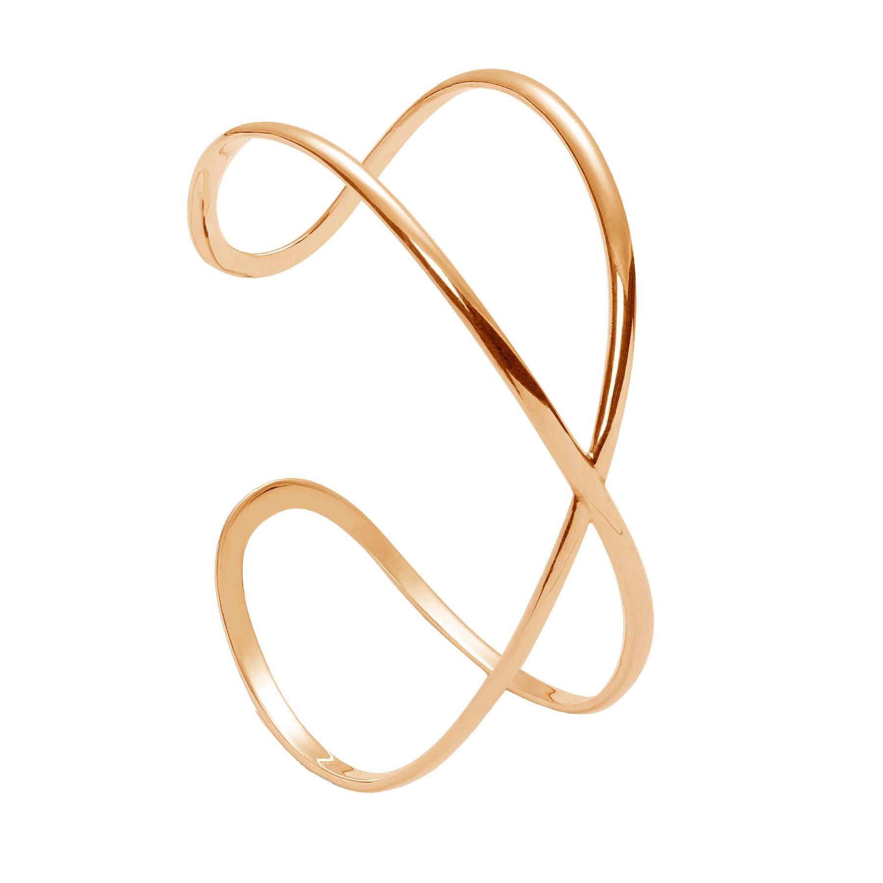 Lilou bracelet signe de l 39 infini plaqu or - Le signe de l infini ...