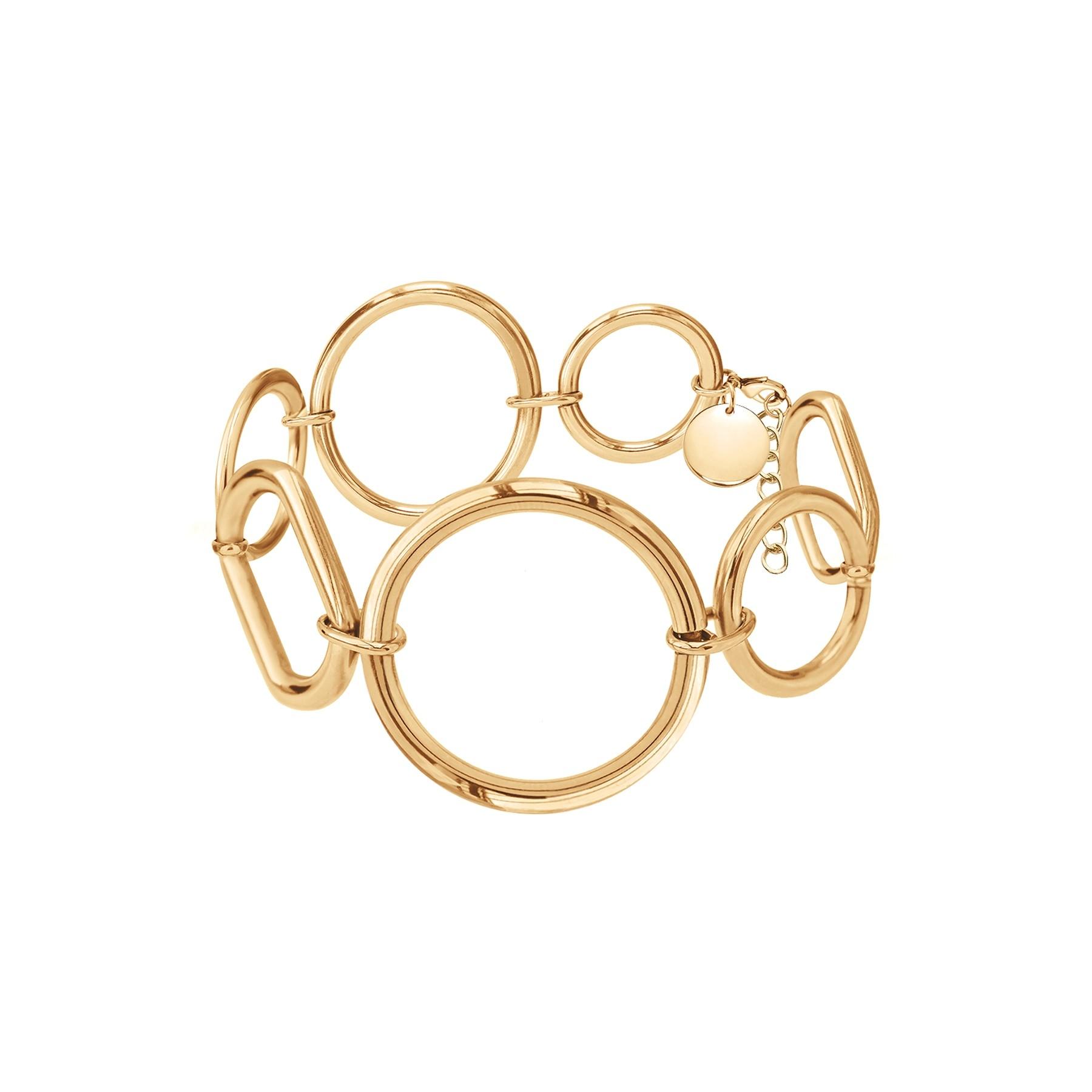 Bracelet California, plaqué or