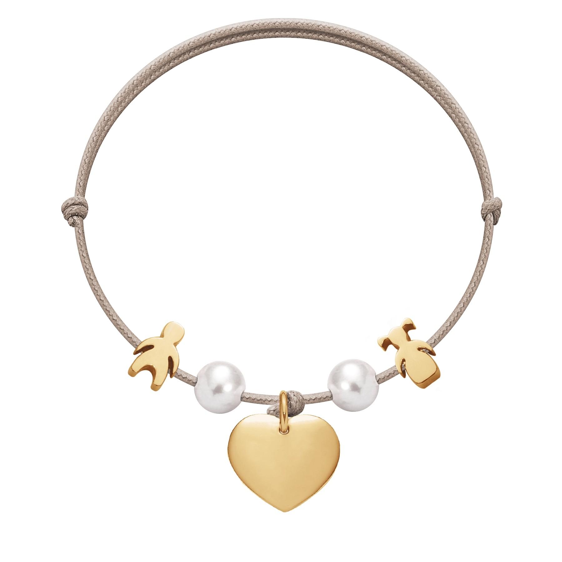 Bracelet Lily plaqué or