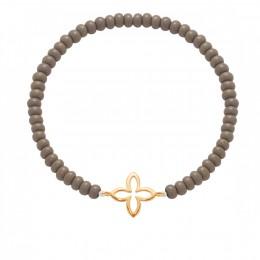 Bracelet Hannah, plaqué or