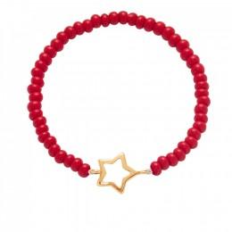 Bracelet Nathalie, plaqué or