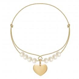 Bracelet Adèle plaqué or