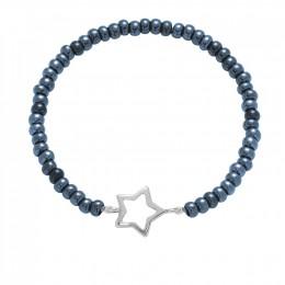 Bracelet Nathalie, argent