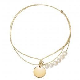 Bracelet Elise plaqué or