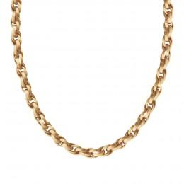 Collier chaîne No.2, plaqué or, 70 cm