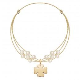 Bracelet Gabrielle plaqué or