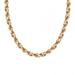 Collier chaîne No.2, plaqué or, 60 cm