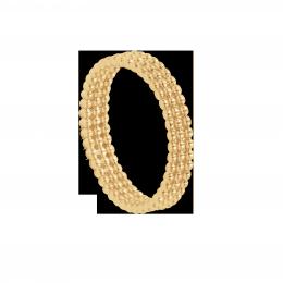 Bague Etno V plaqué or