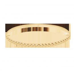 Bracelet Etno III plaqué or
