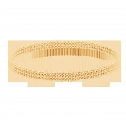 Bracelet Etno V plaqué or