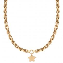Collier chaîne No.2 avec étoile 2 cm
