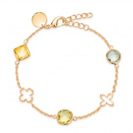 Bracelet Biarritz avec pierres semi-précieuses