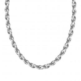 Collier chaîne No.2, plaqué argent, 70 cm