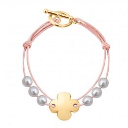 Bracelet Adrienne, plaqué or