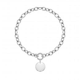 Bracelet chaîne No.1 avec médaillon
