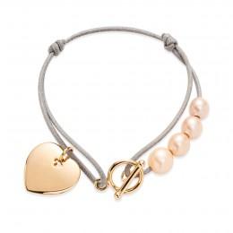 Bracelet Amélie plaqué or