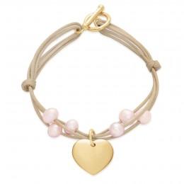 Bracelet Ariane plaqué or