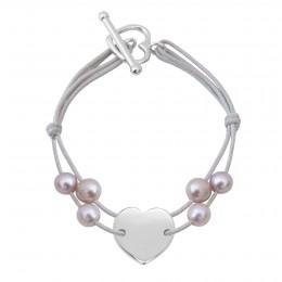Bracelet Valentine, argent