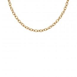 Collier chaîne No.1, plaqué or