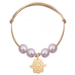 Bracelet Loure, plaqué or