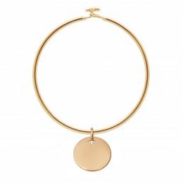 Bracelet Penelope avec médaillon en plaqué or