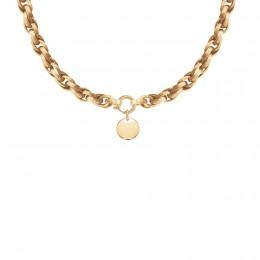 Collier chaîne No.2 avec médaillon 1,5 cm