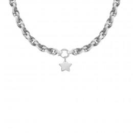 Collier chaîne No.2 avec étoile 1,5 cm