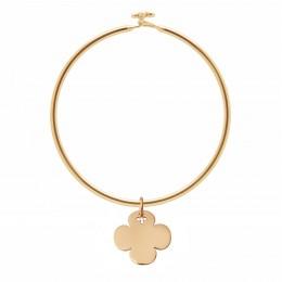 Bracelet Penelope avec trèfle en plaqué or