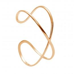 Bracelet Signe de l'infini plaqué or